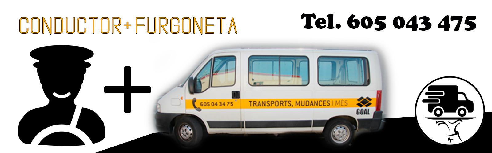 furgoneta + mudanza